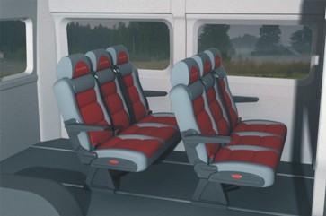 Пассажирский микроавтобус 9 мест. Салон-трансформер Fiat Ducato