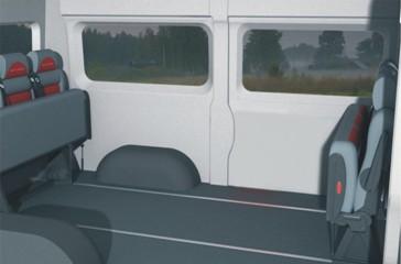 Фиат Дукато трансформация в грузовой микроавтобус.